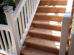building wood steps for a deck