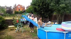 pools for home home made water slide for big kids youtube