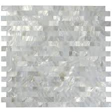 1 sq ft white mother of pearl tile shell mosaic tile kitchen