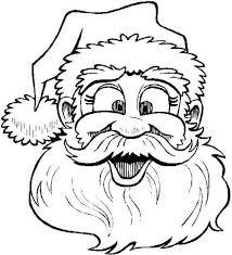25 santa coloring pages ideas printable