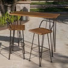 Diy Outdoor Bar Table Patio Bar Sets You Ll Wayfair