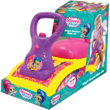 Baby Carpet Car For Kids Baby Girls Ride On Car For Babies Shimmer And Shine