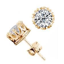 pretty earrings beautiful cz diamond stud earrings pretty inc