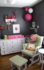 chambre hibou idées de déco chambre fille dans le style romantique très chic