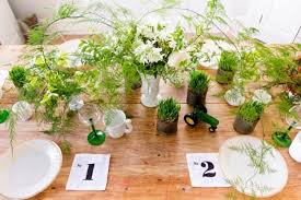 table centerpiece green table centerpiece ideas for bright decorating