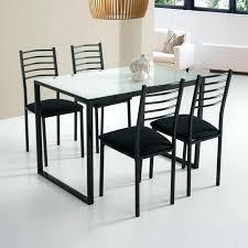 cdiscount chaise de cuisine c discount chaises lot de 6 chaises colami noir cdiscount chaises