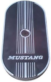 mustang cleaners 1965 1970 mustang ford racing mustang logo oval air cleaner one