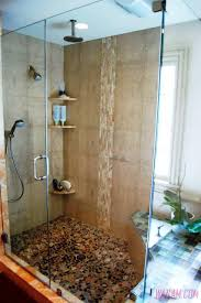 bathroom shower modern sink stand up shower glass door walk in