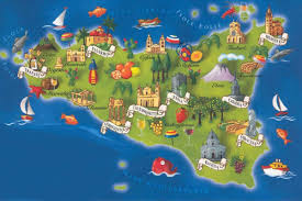 Italy On Map Sicily I U0027m Coming 5days 4nights Italy On A Budget Tours