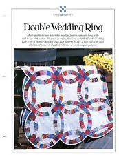 Wedding Ring Quilt by Double Wedding Ring Quilt Pattern Ebay
