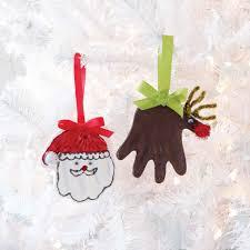 reindeer santa handprint kit by mud pie