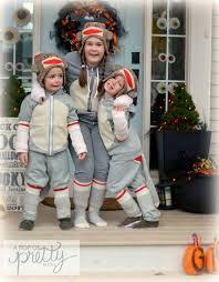 halloween costume ideas sweet diy sock monkey a pop of pretty