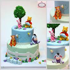 winnie the pooh baby shower cake winnie the pooh and friends baby shower cake cakecentral