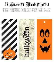 hallowen download printable halloween bookmarks free download wee share