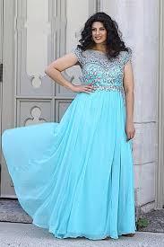 dress bright blue dress plus size dress prom dress plus size