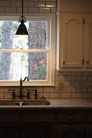 kitchen lighting over sink bell polished nickel country metal