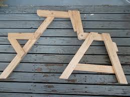 Wooden Folding Picnic Table A Compact Folding Picnic Table Page 10