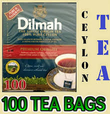 Teh Dilmah ceylon tea 100 tea bags dilmah premium black tea sri lanka
