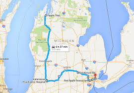 Map Of Michigan Roads by Terrifying Michigan Road Trip To Haunted Places
