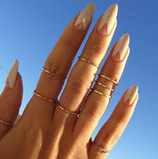 top 10 negative space nail art ideas negative space triangles