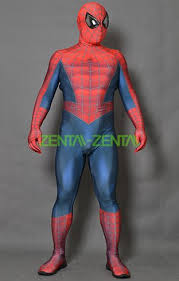 spiderman rami suit printed spandex lycra bodysuit without chest