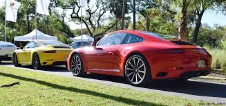 porsche red paint code 2017 porsche 911 c2s u2013 race yellow and guards red first drive