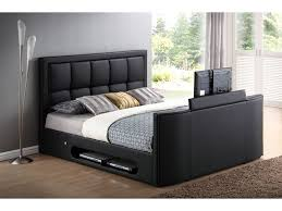 Kingsize Tv Bed Frame King Size Tv Bed Frame Inc Led Tv Pocket Memory Foam