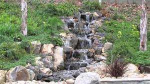 Backyard Waterfall Backyard Waterfall In Rancho Bernardo Youtube