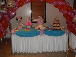 minnie u0027s 1st party party decorations by teresa