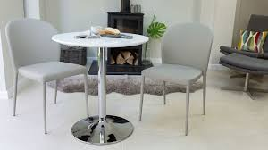 2 chair kitchen table set round white gloss 2 seater dining table pedestal base uk