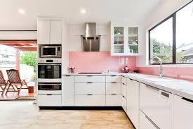pretty in pink mastercraft kitchens