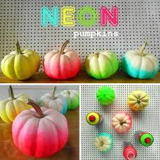 cute home decorations you can make with mini pumpkins neon mini pumpkins
