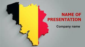 Belgian Flag Download Free Belgium Flag Powerpoint Theme For Presentation