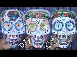 DIY Sugar Skull Decor