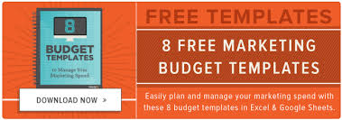 free budgets templates how to manage your entire marketing budget free budget tracker