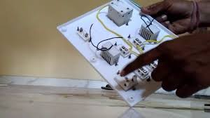 board wiring connection for house wiring in hindi youtube