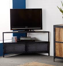 Corner Tv Cabinets For Flat Screens With Doors by Tv Stands Interior Floating Long Blackoden Tv Stand With Three