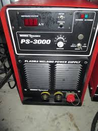 thermal dynamics plasma welder ps 3000 power supply wc 100b