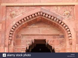 Corbelled Brick Fatehpur Sikri India Hindu Corbelled And Islamic Arches Star Of