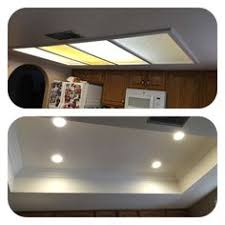 Fluorescent Lights For Kitchens Ceilings by Remodel Flourescent Light Box In Kitchen We Also Replaced The