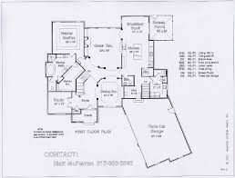 floor plans blueprints first floor great room kitchen dining