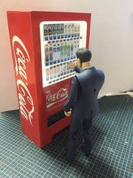 siege coca cola simple coca cola vending machine for diorama free papercraft