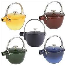 cast iron teapots japanese style teapot by staub for sale