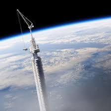 Best Architecture Firms In The World Supertall Skyscraper Hangs From Orbiting Asteroid In Clouds