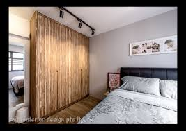 Hdb Bedroom Design With Walk In Wardrobe Hdb Home Renovation Interior Renovation And Design House