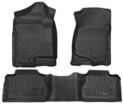 amazon com husky liners front u00262nd seat floor liners fits 07 13