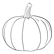 pumpkin outline clipart black and white clipartme