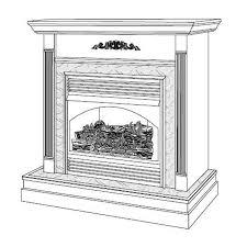 vsgf28nta vanguard vent free natural gas fireplace