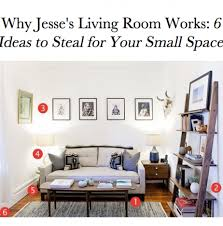 Organizing A Living Room by Tips To Organize A Small Space Neat Method