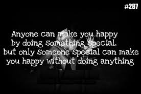 What Can I Do To Make You Happy Meme - anyone can make you happy by doing something special but only